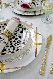 if you re hosting a dinner party my gold diy charger plates are perfect for