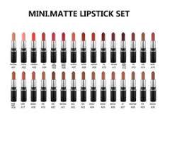 makeup color names promo codes new hot makeup mini matte lipstick collection set 30 color