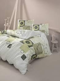 ranforce double quilt cover set sıla beige white beige green grey from victoria