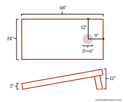 bean bag toss dimensions. Interesting Dimensions We Have Instructions For A More Sophisticated Cornhole Set Coming To Our  Ebooks Section Soon Inside Bean Bag Toss Dimensions  Cornhole How To