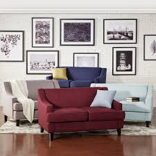 Winslow Concave Arm Modern Loveseat by iNSPIRE Q Bold - Free Shipping Today  - Overstock.com - 13867511