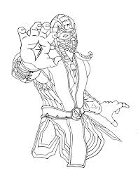 Small Picture Mortal kombat scorpion coloring pages ColoringStar