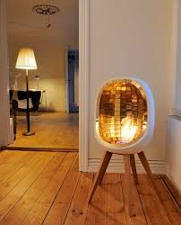 gorgeous portable fireplaces for small spaces