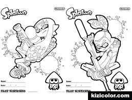 Free Splatoon 2 Coloring Pages Coloring Pages Coloring Pages