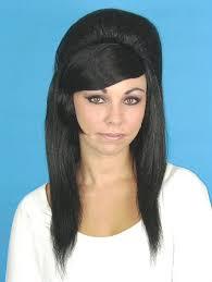 Priscilla Black Beehive wig -