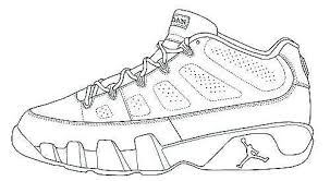 Sneaker Coloring Page Lovely Fresh Jordan Shoes Coloring Pages 1467