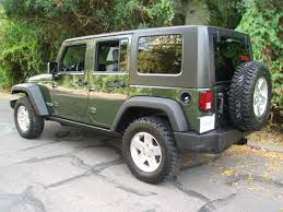 2007 jeep forest green rubicon 4 door wrangler