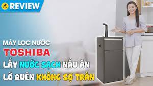 Máy lọc nước RO Toshiba 3 lõi: đa công năng, giá bất ngờ (TWP-N1843SV) •  Điện máy XANH - YouTube