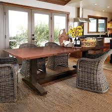 copper top kitchen table round copper top dining glamorous copper kitchen table home round copper top