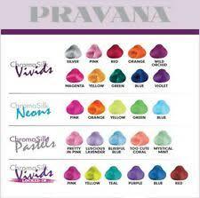 Products Pravana Chromasilk Vivids Hair Colors For Sale Ebay