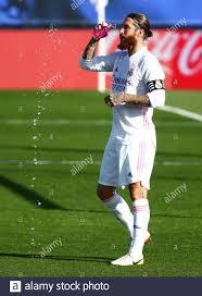 Soccer Football - La Liga Santander - Real Madrid v SD Huesca - Estadio  Alfredo Di Stefano, Madrid, Spain - October 31, 2020 Real Madrid's Sergio  Ramos REUTERS/Javier Barbancho Stock Photo - Alamy