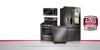 Bundle Appliance Deals Lg Deals On Home Appliances Lg Usa