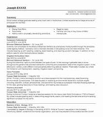 48 Conservation Green Jobs Resume Examples In Missouri Livecareer