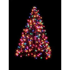 Outdoor Lighted Wire Christmas Trees