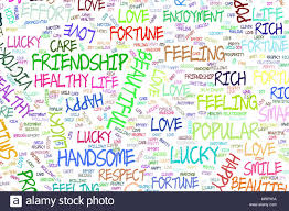 Positive Graphic Design Illustrations Of Positive Emotion Word Cloud Good For Web