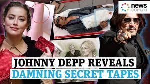 Johnny Depp trial: Damning audio tapes revealed in court - YouTube