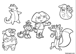 Small Picture Printable 47 Dora The Explorer Coloring Pages 2241 Dora The