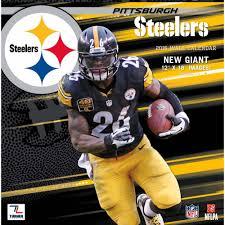 Steelers Bedroom Turner Pittsburgh Steelers 2016 12 X 12 Team Wall Calendar