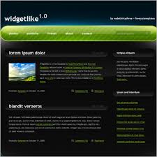 Free Website Templates Delectable Full Size Website Templates Free Download Template Free Website