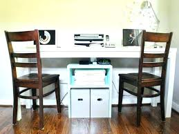 two person home office desk. Two Person Office Chairs Full Image For Home Desks Stylish Desk F