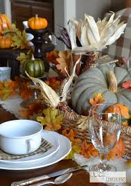Fall Table Scapes Creating A Pottery Barn Inspired Fall Tablescape Lilacs And