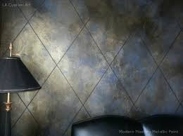 metallic paint for wallsmetallic paint  Modern Masters Cafe Blog