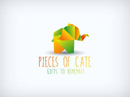 Office Logo Gifts Modern Colorful Gift Shop Logo Design For Pieces Of Cate