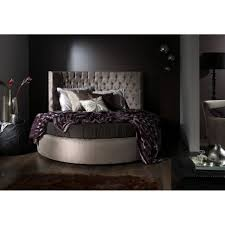 Charming Modern Bedroom Decoration Using Various Ikea Circle Bed Frames :  Cool Picture Of Modern Grey