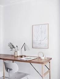 white office interior. Modren Office Milk Blog White Office And Wood Throughout Interior
