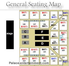 Eastern Michigan University Convocation Center Seating Chart Palace Entertainment