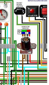 cb400 4 colour motorcycle wiring harness diagrams honda cb400 4 cb400f four uk colour wiring diagram