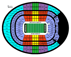 Invesco Field Seating Chart With Seat Numbers Sports Authority Stadium Seating Chart Related Keywords
