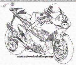 Miglior Collezione Moto Di Valentino Rossi Da Colorare Disegni Da