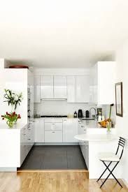 Small white kitchens Modern Small Modern White Kitchen House Garden White Kitchen Ideas Design Ideas House Garden