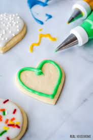 sugar cookie icing real housemoms