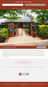 the property of garden gate patio homes peors revenue and employees owler pany profile