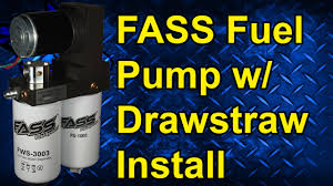 fass fuel pump drawstraw install 2002 dodge cummins fass fuel pump drawstraw install 2002 dodge cummins