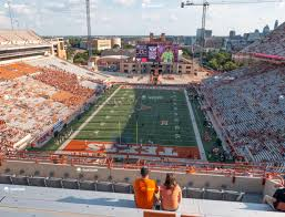 Texas Dkr Memorial Stadium Seating Chart Darrell K Royal Texas Memorial Stadium Section 115 Seat