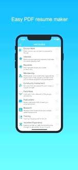 Resume Builder App Free Fascinating Best Resume Builder App Inspirational Resume Builder App