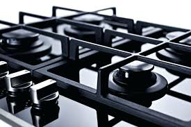 cast iron for glass cooktops a additional 4 burner gas on glass with sealed burners