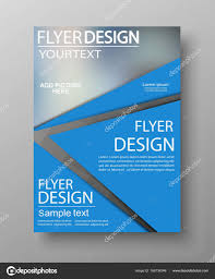 Business Flyer Design Templates Blue Business Flyer Design Can Be Used For Art Template