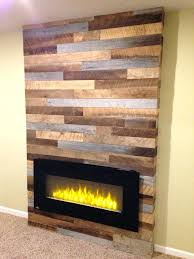 convert wood fireplace to electric using reclaimed wood and pallets with a modern electric fireplace converting convert wood fireplace to electric