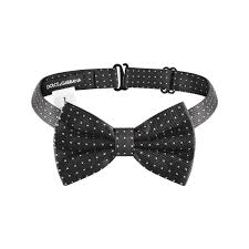 African American Bow Tie Designers Dolce Gabbana Boys Black Bow Tie Dolce Gabbana Boys