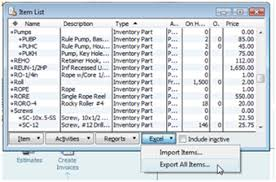 How To Do An Inventory List Importing Quickbooks Inventory With Excel Practical