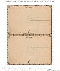 Free Postcard Invitation Templates Printable | Vastuuonminun