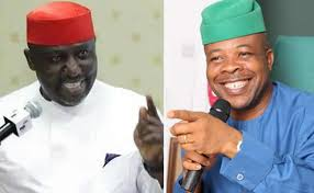Image result for new imo state governor with okorocha