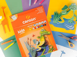 Coloured carton pad <b>Canson Kids</b> - Vunder