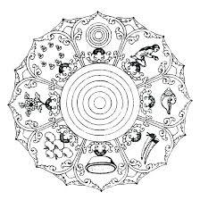 Free Printable Mandala Coloring Pages Adult Mandala Coloring Pages