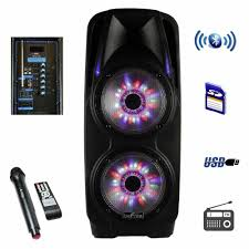 Befree Sound Triple 10 Subwoofer With Party Lights
