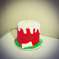 Candle Light Bakery Christmas Candle Cake With Battery Tea Light My Cakes From